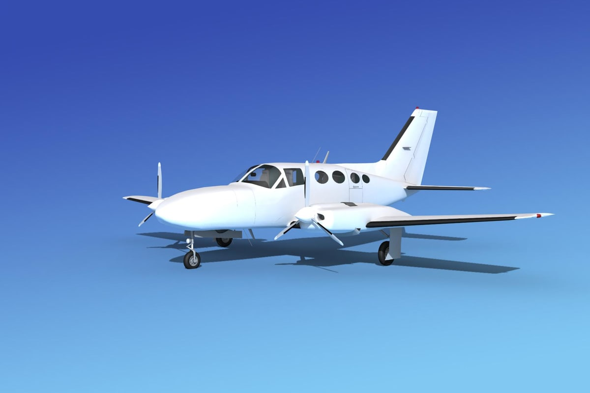 3ds scale cessna 421 golden eagle