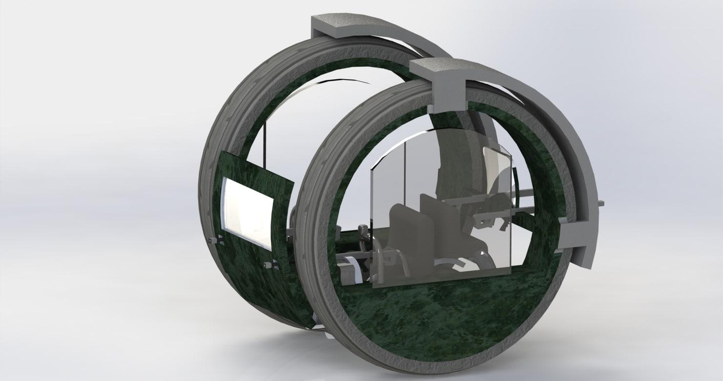 3d futuristic
