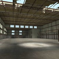 Warehouse Interior and Exterior