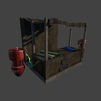 stand pod engines 3d 3ds