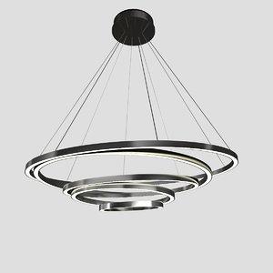 3d toccata pendant light model