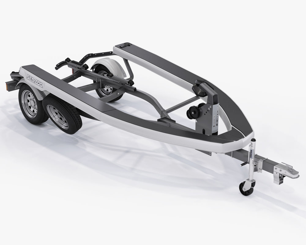 3d sea-doo trailer jet ski