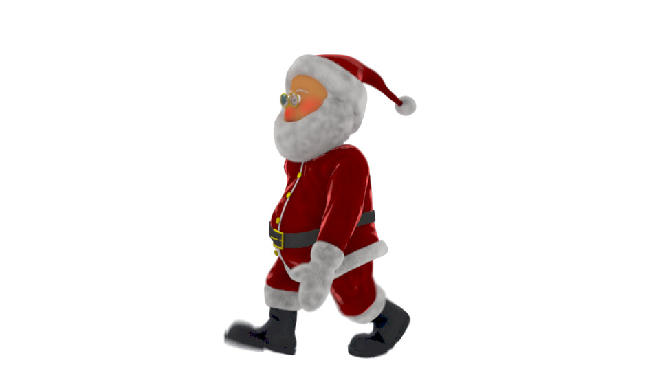 ma santa cartoon