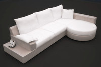 Round Extended Sofa
