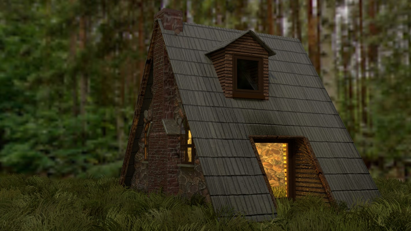 a-frame country home blend