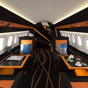 3d model realistic interior