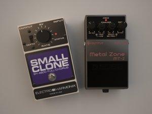 guitar pedals 3d model