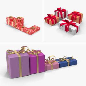 gift boxes vol 1 3d model
