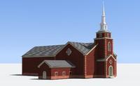 3d neoclassic church