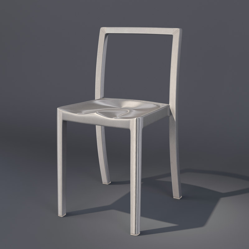icon chair starck emeco 3d model