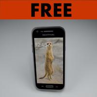 free smartphone phone 3d model