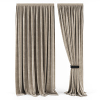 3d model curtains