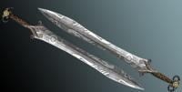 3dsmax fantasy sword