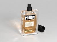 perfume bottle 3d max