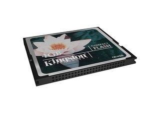 3d max compact flash card