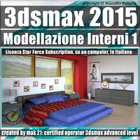 3ds max 2015 Modellazione Interni 1 Subscription