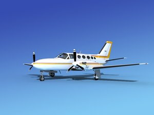 3ds scale cessna 425 conquest