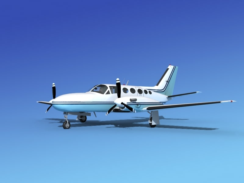 3d scale cessna 425 conquest