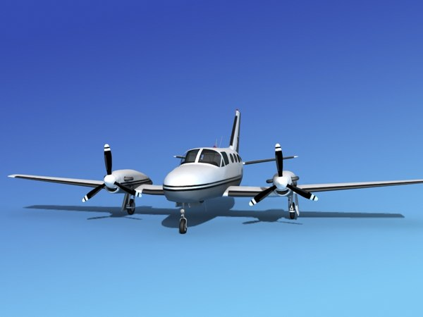 3d scale cessna 425 conquest model