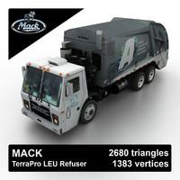 Mack TerraPro LEU Refuser