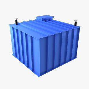 3d model plastic cellar