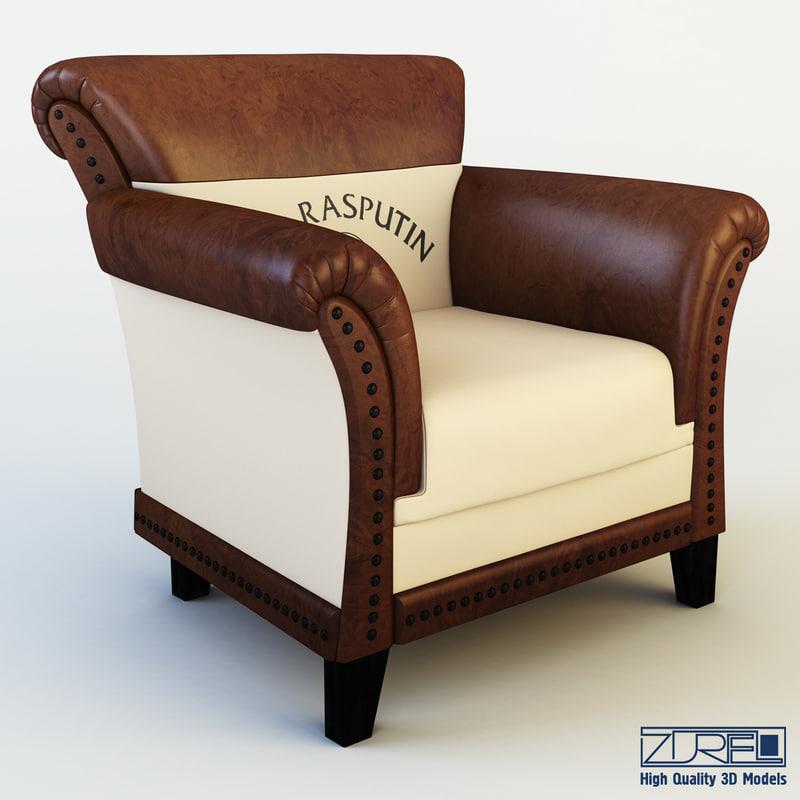 3d club chair patti