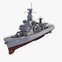 f930 leopold 1 frigate 3d model
