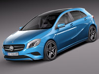 3d 2015 mercedes-benz eco