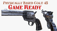 Rusty Colt 45 (PBR) Game Ready