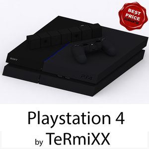 3ds max sony playstation 4