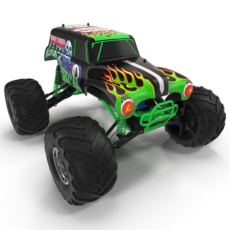 radio control car monster 3d 3ds