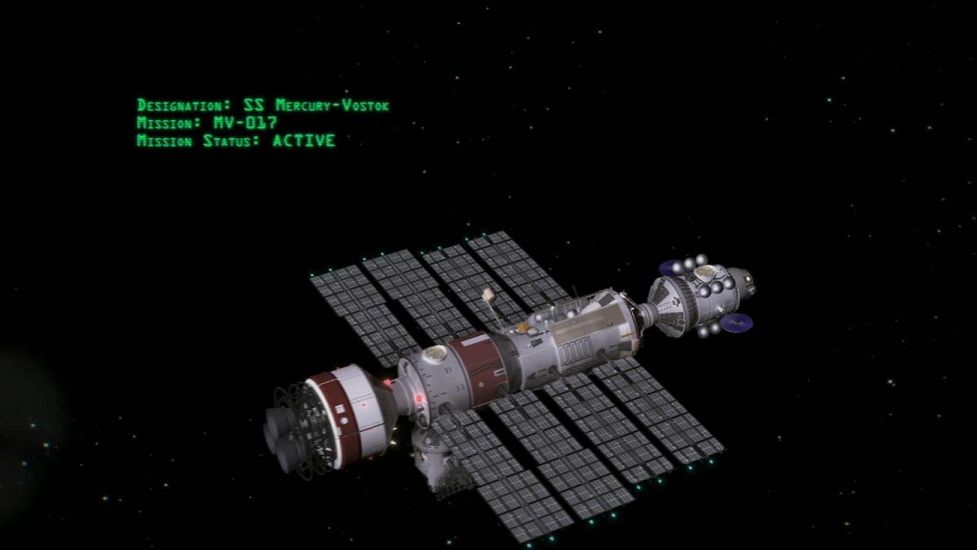 3dsmax vostok-mercury modular craft