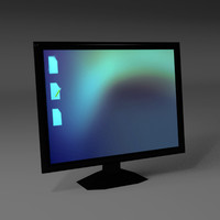 3d lcd computer monitor