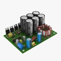 3d circuit board model