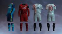 Sevilla FC 2014/2015 Jerseys