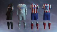 Atletico Madrid 2014/2015 Jerseys