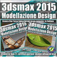3ds max 2015 Modellazione Design Subscription