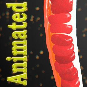 3d small blood vessel