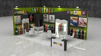 3d max fair exhibition stand