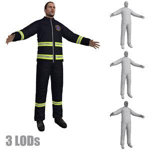 paramedic lod s 2 3d max