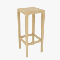 wooden bar stool max