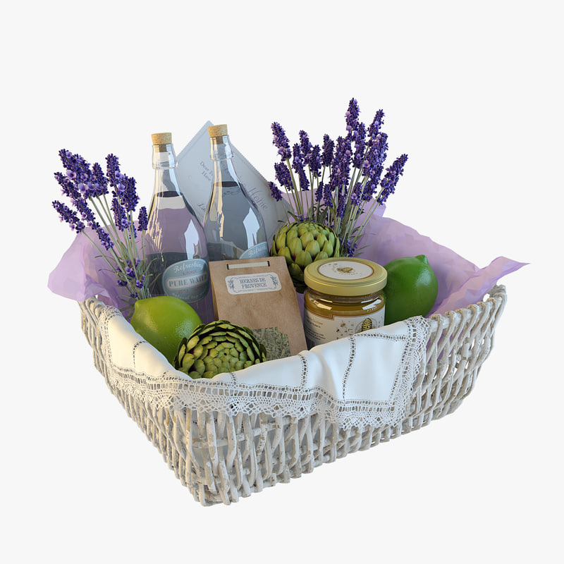 realistic decor basket max