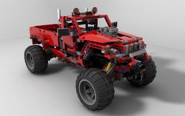 lego technic 3d 3ds