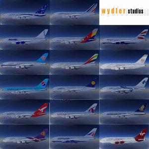 3dsmax a380 17 liveries air