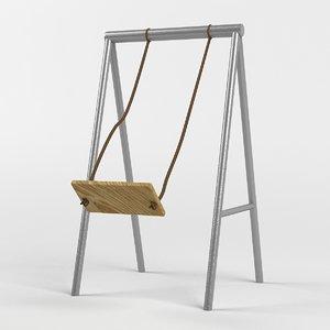 garden swing 3d x
