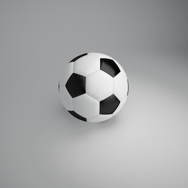 football ball 2 3d model