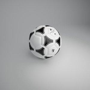 3d football ball 3