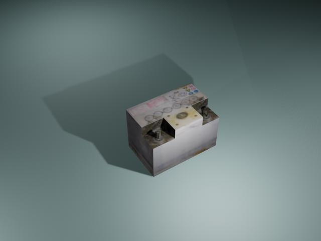 3ds max battery car