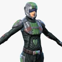 Sci-Fi Armor 5 (Female)