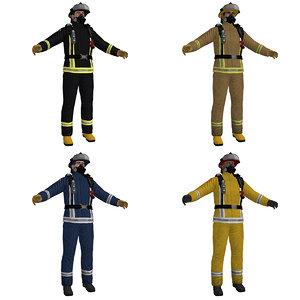 fireman ready obj